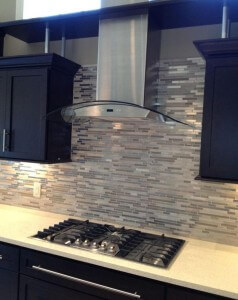 Quartz Backsplash Wall and Countertop in Woodstock, GA